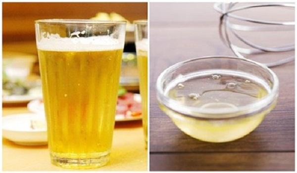 Cách làm trắng da bằng bia 5