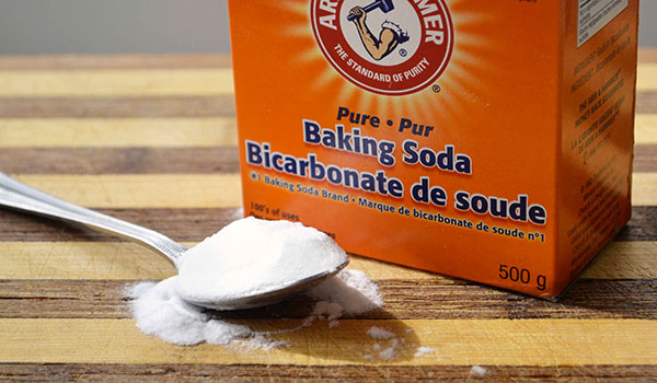 baking soda làm trắng da