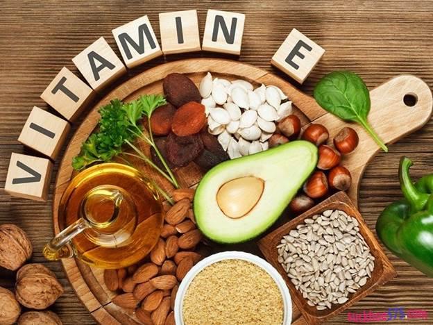 Làm trắng da bằng vitamin E