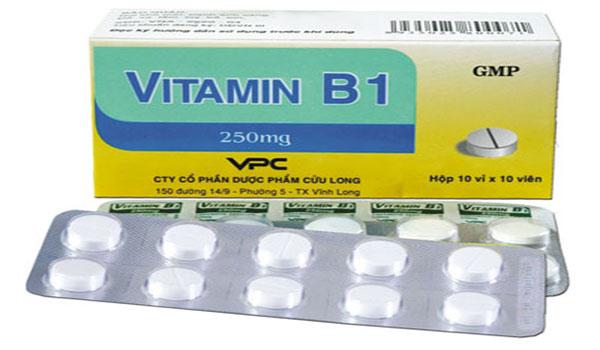 vitamin B1 làm trắng da